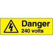 Warn093 - Danger 240 Volts 3